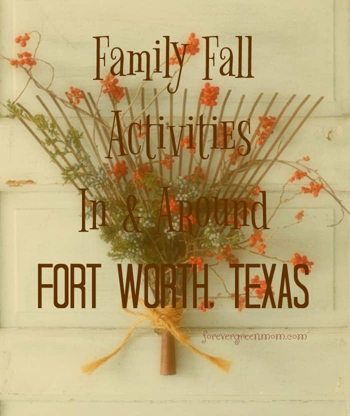 Fall Activities in Fort Worth and Beyond