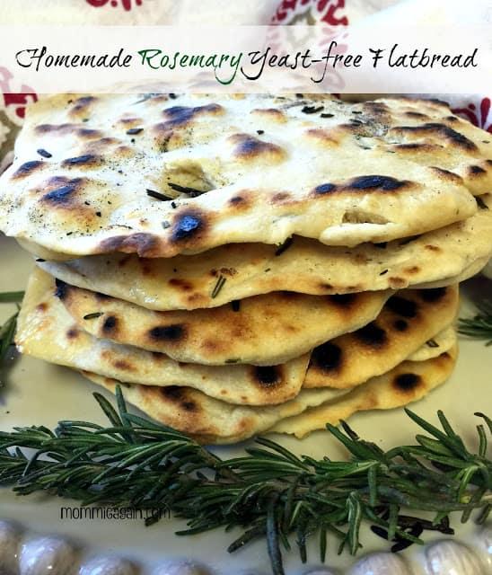Homemade Yeast-Free Flatbread