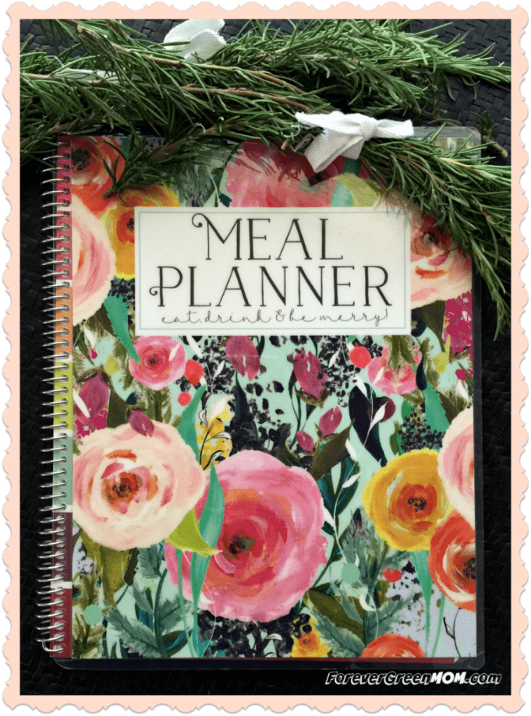 Plan Meals with Meal Planner by Carrie Elle