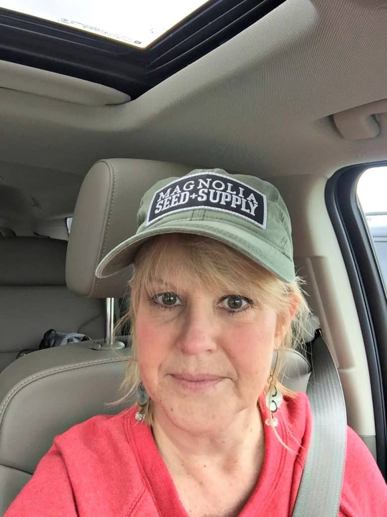 My fun Magnolia Seed & Supply hat