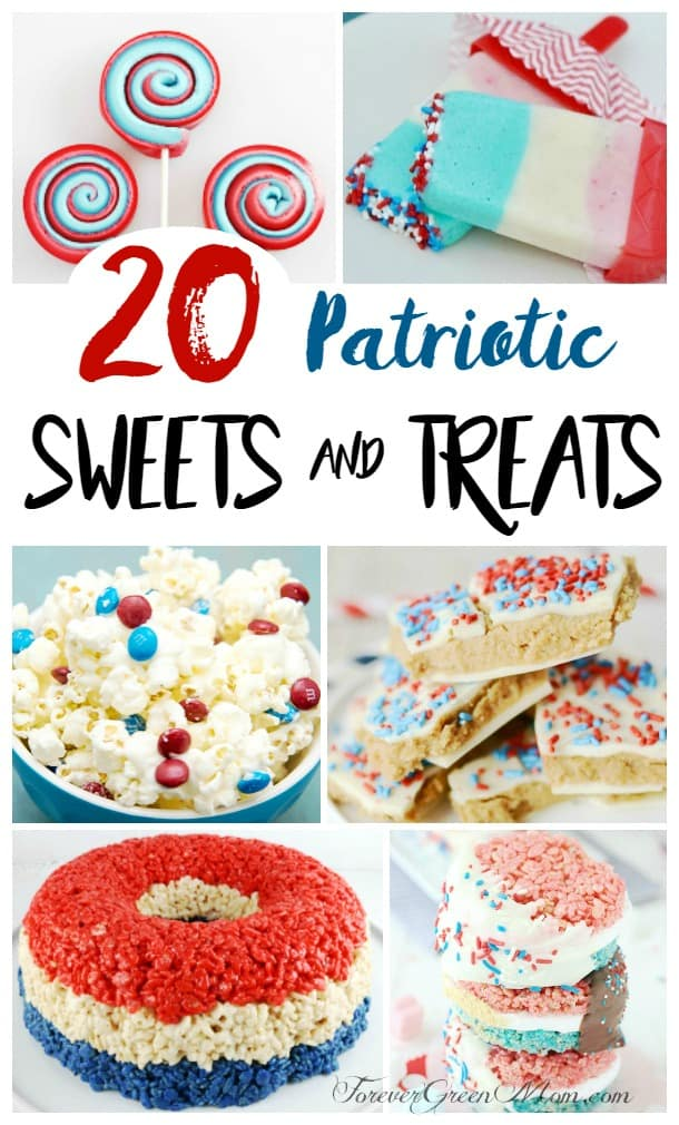 20 Homemade Fourth of July Patriotic Sweet Treats