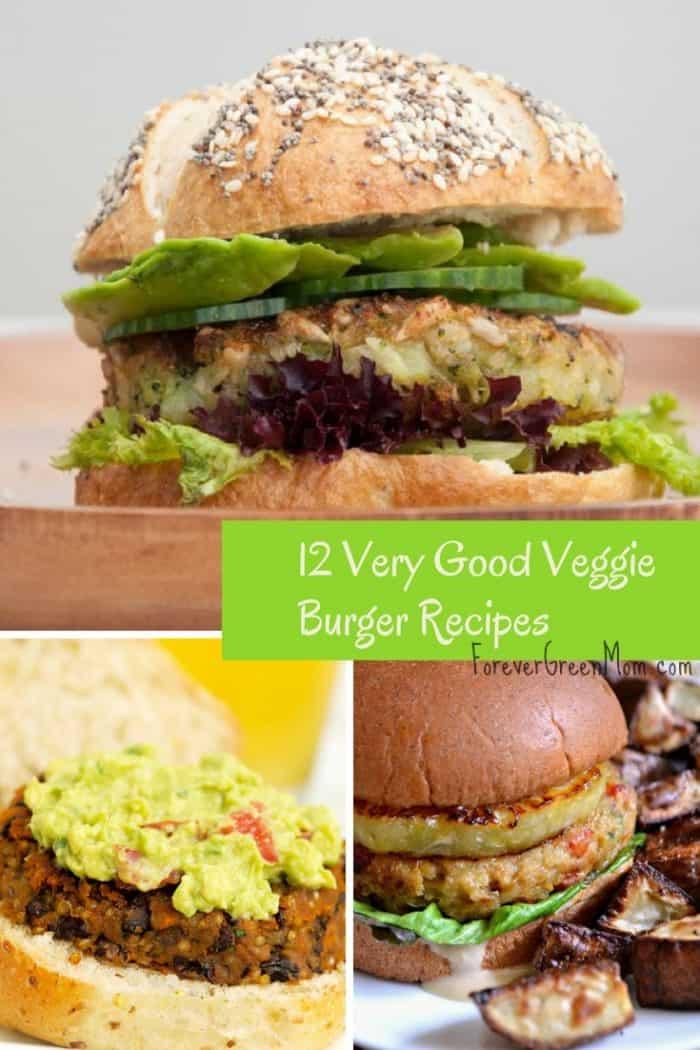 12 Homemade Veggie Burger Recipes