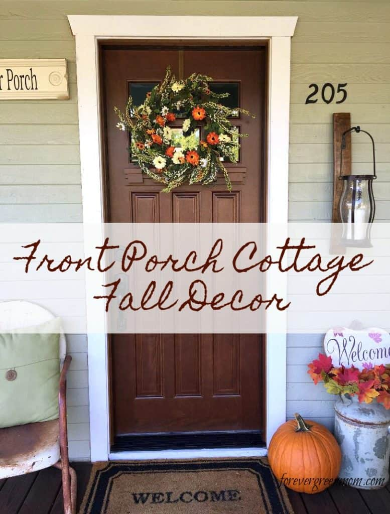 Front Porch Cottage Fall Decor
