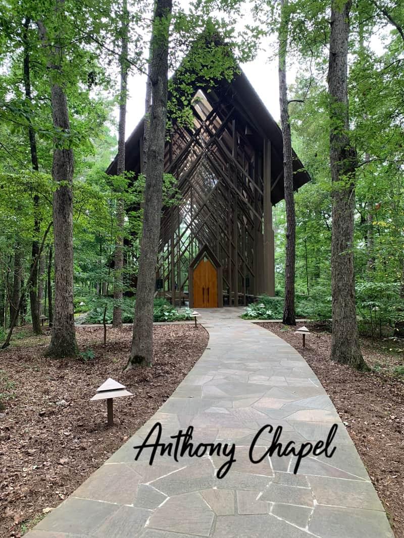 Anthony Chapel in Garvan Woodland Gardens