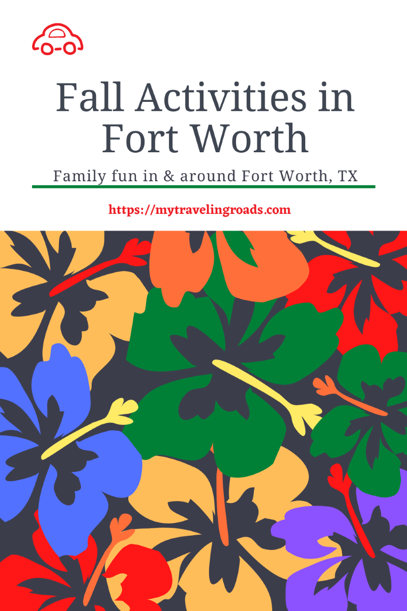 Fall Activities in Fort Worth and Beyond - Update 2020